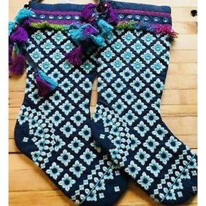 Free People Christmas Stocking